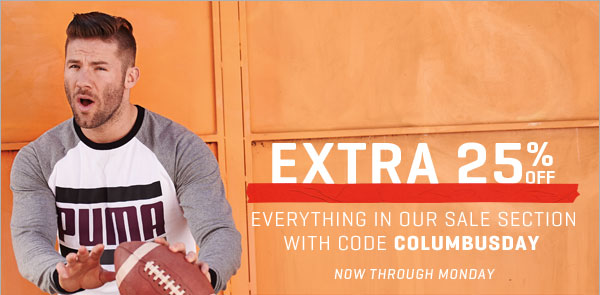 EXTRA 25% OFF | EVERYTHING IN OUR SALE SECTION WITH CODE COLUMBUSDAY | PUMA® Sale Deals on Men's, Women's, Kid's  Shoes, Clothing & Accessories