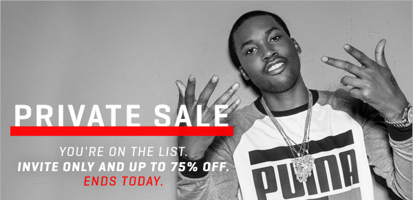 PRIVATE SALE | YOU'RE ON THE LIST. INVITE ONLY AND UP TO 75% OFF. ENDS TODAY. | Sites-US-Site